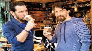 #cafelosmancos - Cafe Los Manços'da doğal mineralli su ile mükemmel kahveler sizi bekliyor #mukemmelkahve